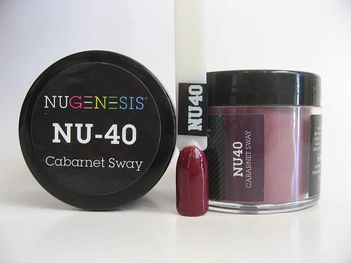 NuGenesis Dipping Powder - Cabernet Sway NU-40