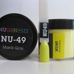 NuGenesis Dipping Powder - Mardi Gras NU-49