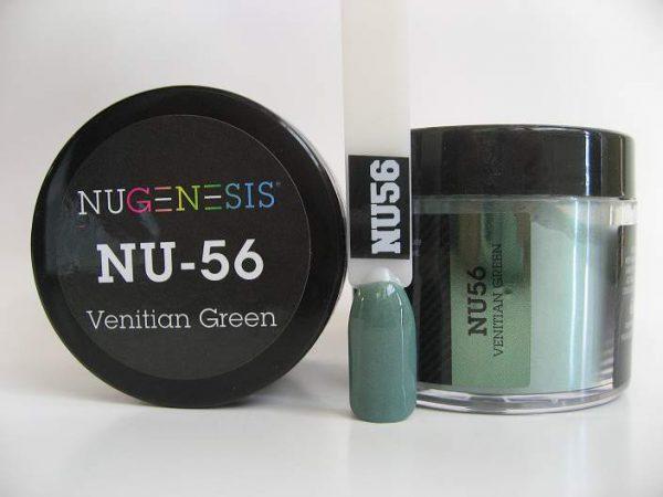 NuGenesis Dipping Powder - Venetian Green NU-56