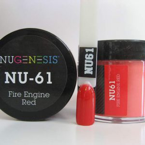 NuGenesis Dipping Powder - Fire Engine Red NU-61