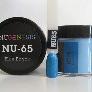 NuGenesis Dipping Powder - Blue Bayou NU-65