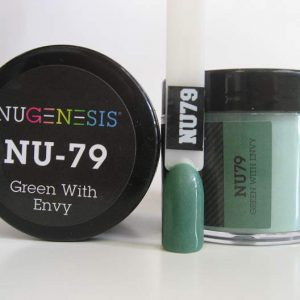 NuGenesis Dipping Powder - Green With Envy NU-79