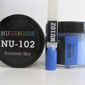 NuGenesis Dipping Powder - Summer Sky NU-102
