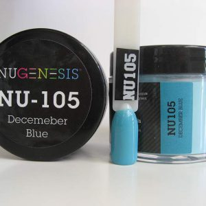 NuGenesis Dipping Powder - December Blue - NU-105