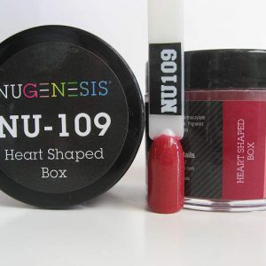 NuGenesis Dipping Powder - Heart Shaped Box NU-109
