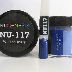 NuGenesis Dipping Powder - Wicked Berry NU-117