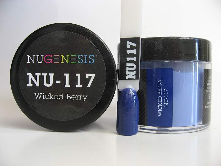 NuGenesis Dipping Powder - Wicked Berry NU-117