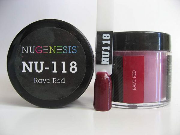 NuGenesis Dipping Powder - Rave Red NU-118