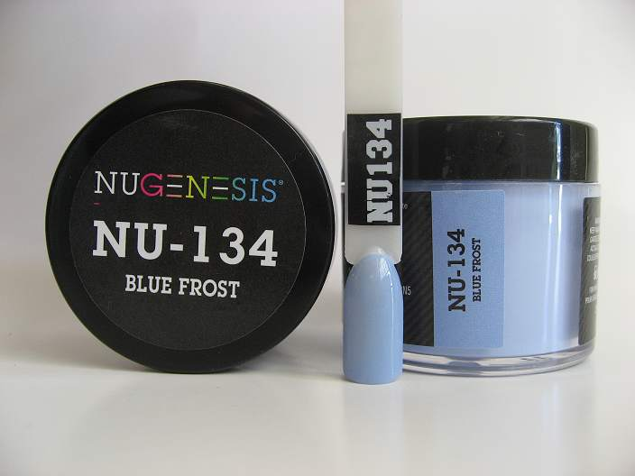 NuGenesis Dipping Powder - Blue Frost NU-134