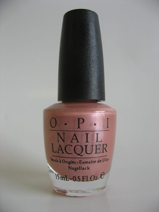 Discontinued OPI A21 - ARGENTEENY PINKINI