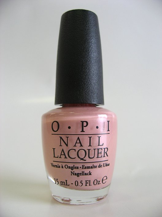 OPI Polish - B72 - Suzi & The Lifeguard