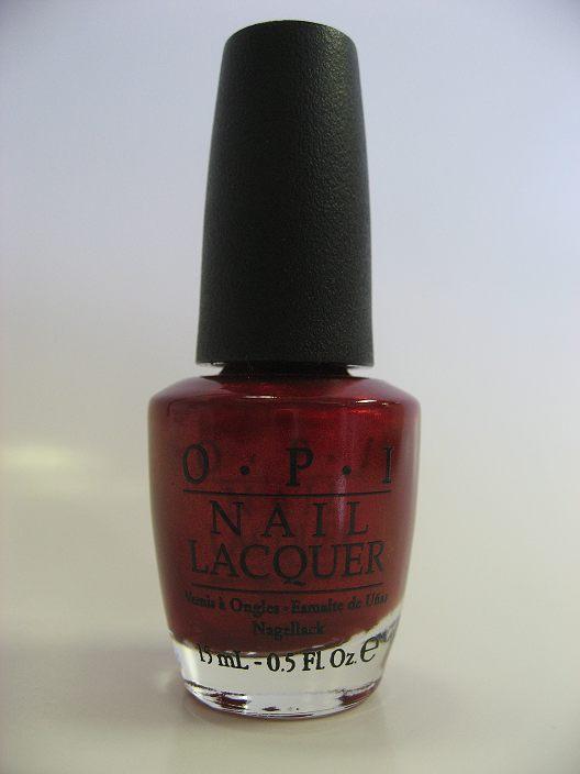 OPI Polish - HL E09 - In My Santa Suit