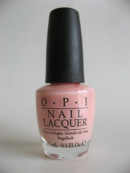 OPI Polish - F27 - In The Spot-Light Pink