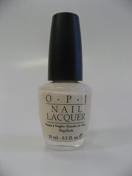 OPI Polish - NL G05 - Cream of Crete