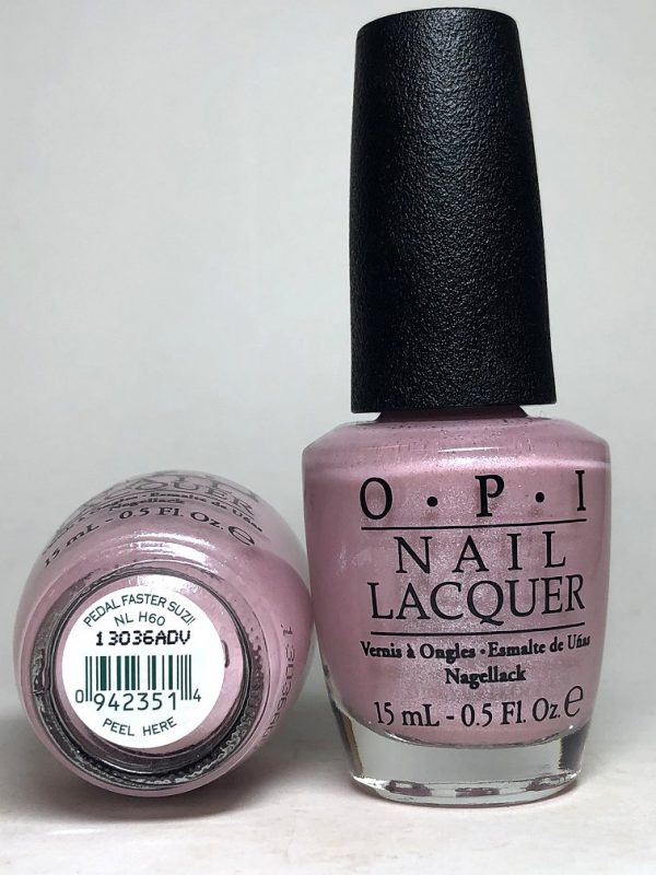 NL H60 - Pedal Faster Suzi! Nail Lacquer from OPI