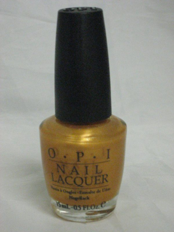 Discontinued OPI J08 - 18K Ginza Gold