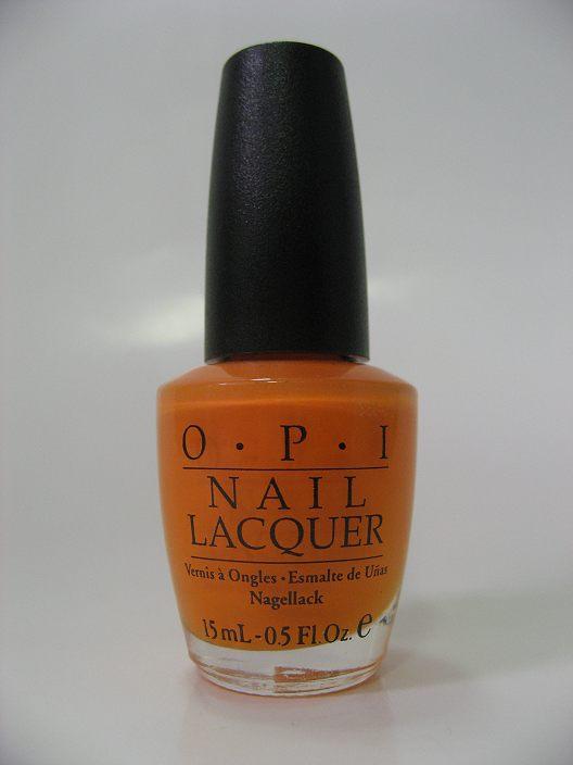 Discontinued OPI J09 - Osaka-To-Me Orange