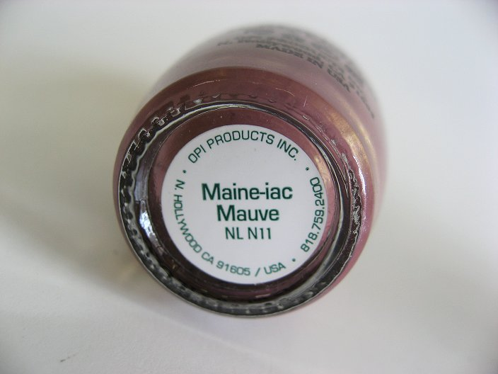Bottom of N11 - Maine-iac Mauve