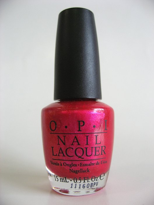 OPI S40 - Be a Dahlia, Won't You