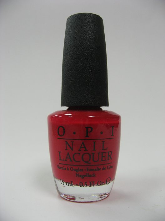 OPI Nail Polish NL Z13 - Color So Hot It Berns