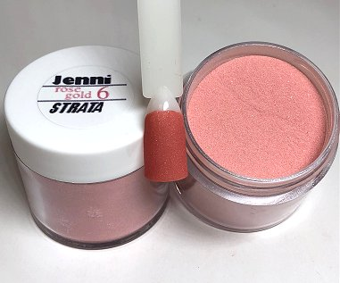 Rose Gold Acrylic Powder RG6
