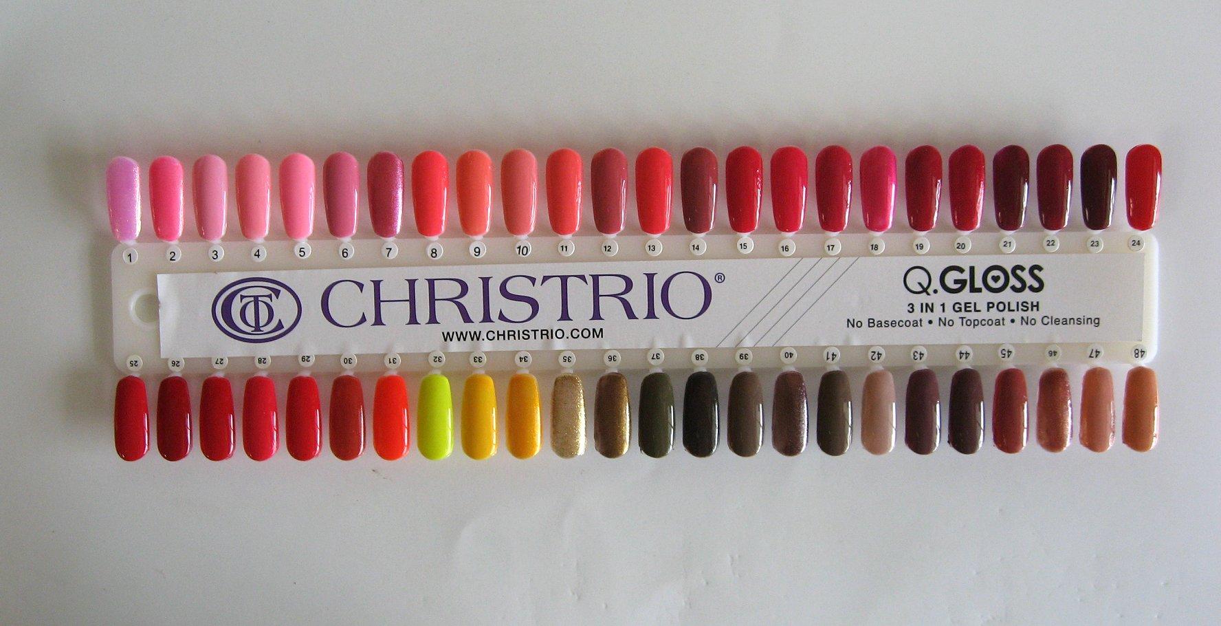 Christrio QGloss Color Chart