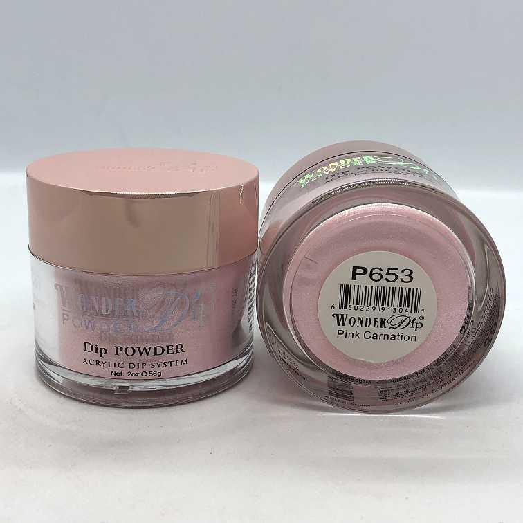 Wonder Dip - Acrylic Dipping Powder 2 oz - W655 - Peach